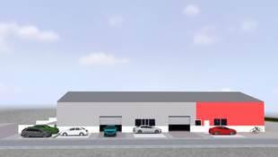 Neubau unserer Lagerhalle in Oberderdingen-Flehingen