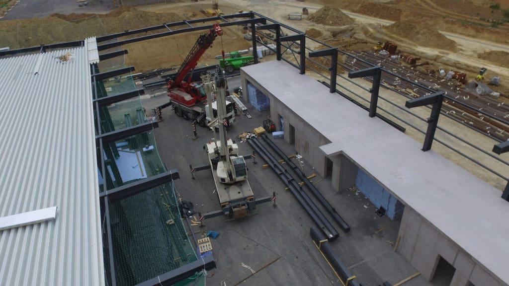 Neumo Baufortschritt im Juli 2020