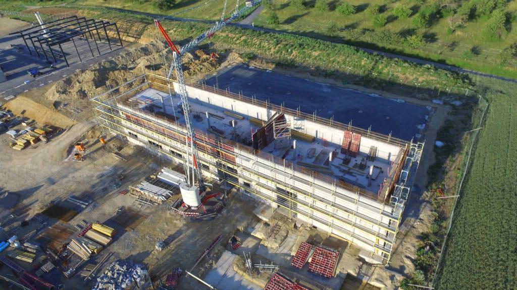 Neumo Baufortschritt im Juni 2020